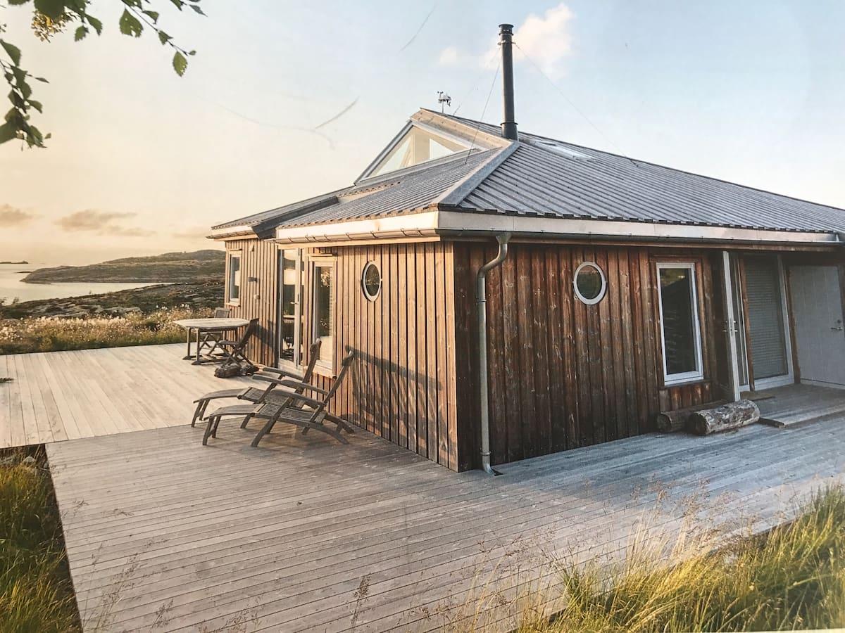Hytte Lysøya